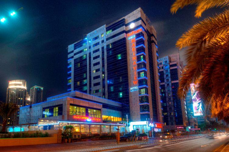 Marina View Hotel Apartments Al Marsa St. Dubai 454745