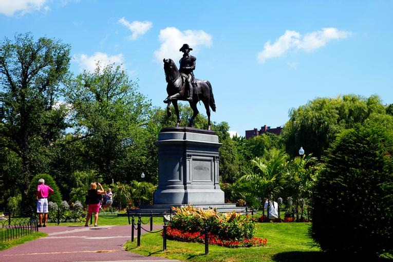 Washington Statue Boston Public Garden 26 of 26