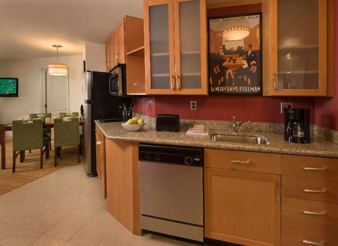Two-Bedroom Suite Kitchen 15 of 28