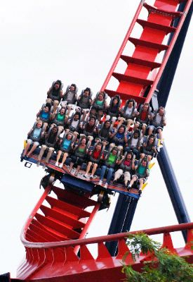 Busch Gardens Floorless Sheikra Take The Plunge! 10 of 14