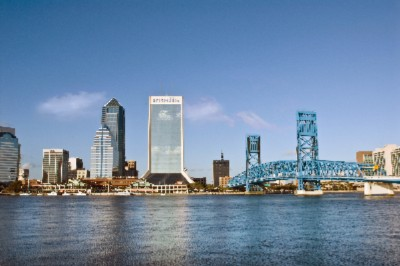 Jacksonville\'s Downtown Skyline 6 of 9