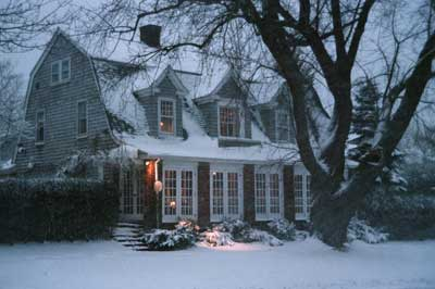 Mill House Inn In Winter 3 of 11