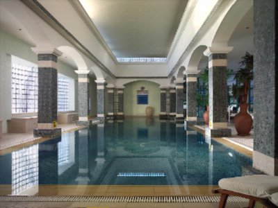 Intercontinental Spa - Indoor Pool 8 of 9