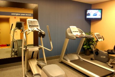 Modern Fitness Center Featuring Precor Gym Equipment 9 of 30