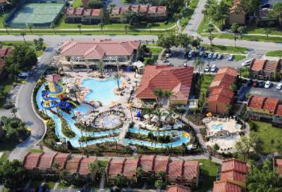 Arial Of The Pool And Lazy River 4 of 10
