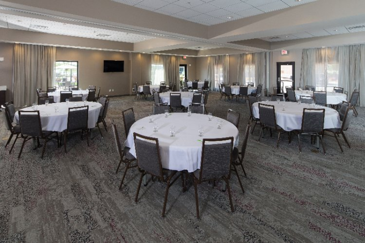 Our Large Banquet Room Ready For Your Event 3 of 11