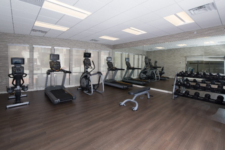 Fitness Center Overlooking Uptown 7 of 11