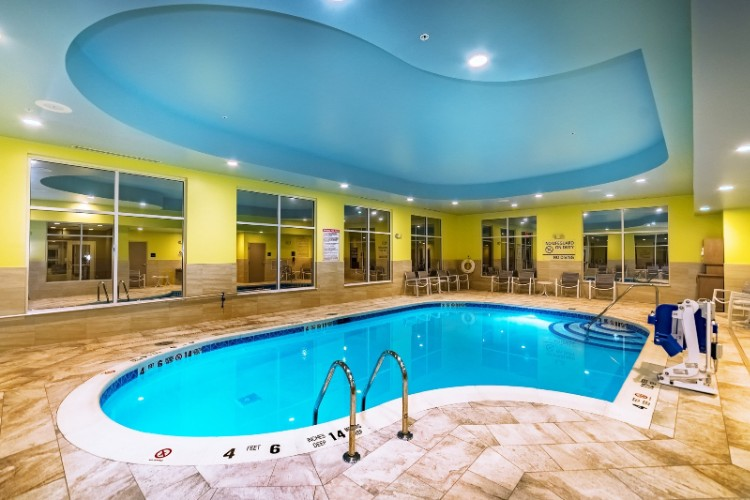 Indoor Heated Salt Water Pool 5 of 5