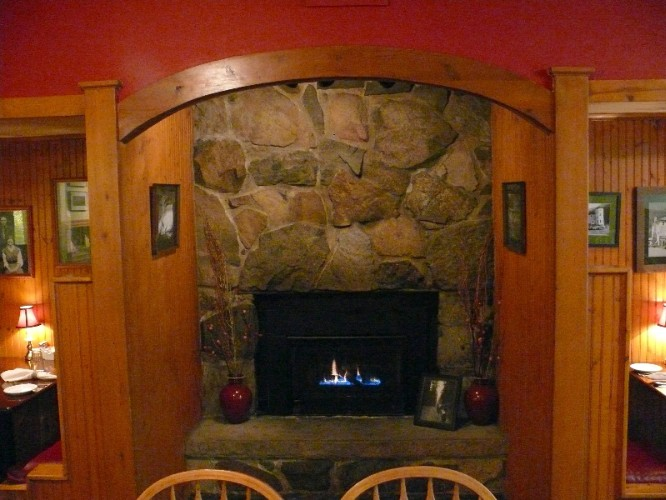 Dining Room Fireplace 7 of 15