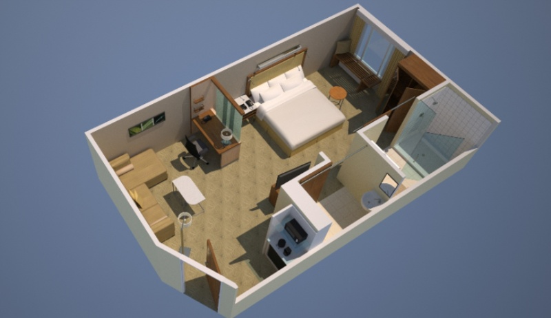 Suite Floor Plan 3 of 12
