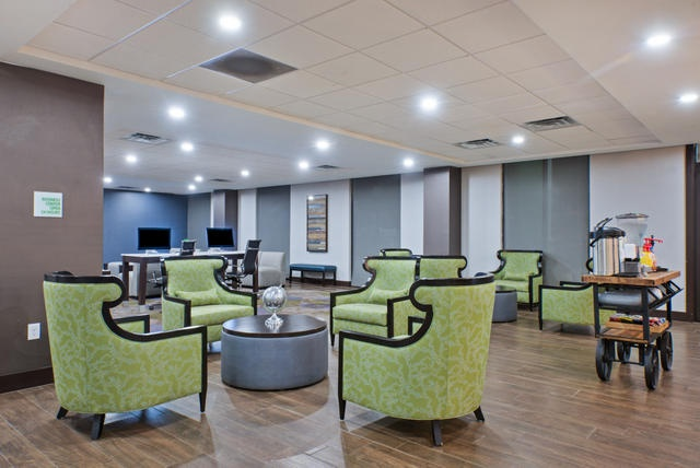 Sprawl Out In Our Comfortable Lobby And Get Some Work Done In Our Business Center! 10 of 17