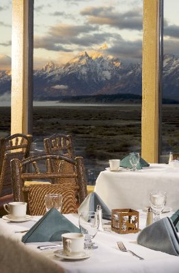 The Mural Room Showcases A Breathtaking View Of The Teton Mountain Range With Windows Extending The Entire Length Of The Dining Room. The Cuisine Is Just As Pleasing With Various Sustainable Meal Options Designed To Create A Memorable Experience. 8 of 10