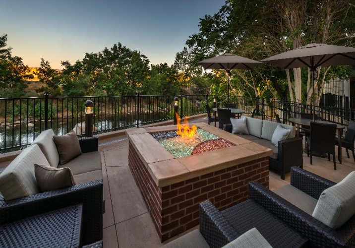 ...or Relaxing Next To Our Patio Fire-Pit Overlooking The Truckee River 23 of 31