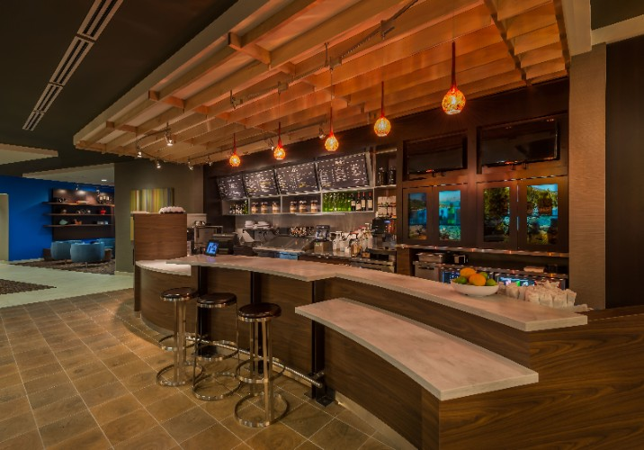 The Bistro Bar...pull Up A Stool And Watch An Nfl Game...courtyard By Marriott...the Official Hotel Of The Nfl. 25 of 31