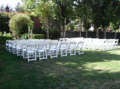 Wedding Ceremony Set Up 3 of 13