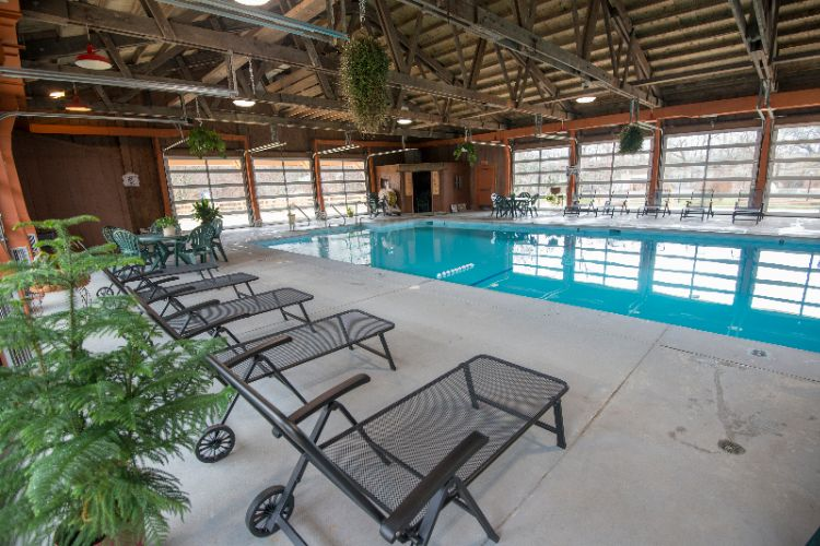 Indoor Pool Pavilion -Heated Pool 7 of 13