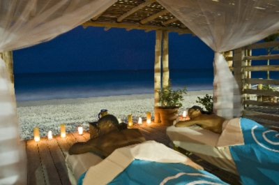 The Natural Rhythms Of Gently-breaking Caribbean Waves Serve As Background Music For Private Oceanfront Massages 8 of 11