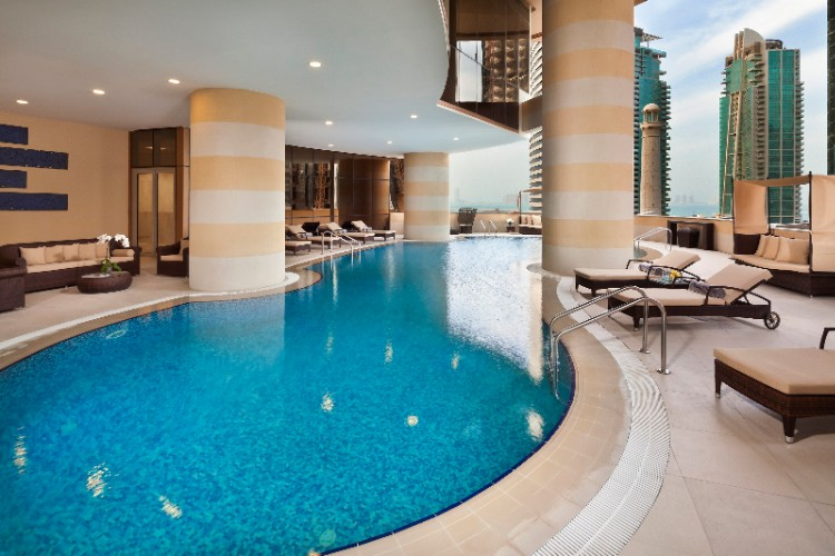 Melia Doha Swimming Pool 10 of 12
