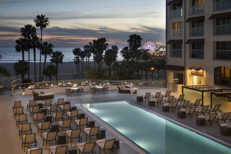Loews Santa Monica Beach Hotel  Ocean Ave Santa Monica Ca