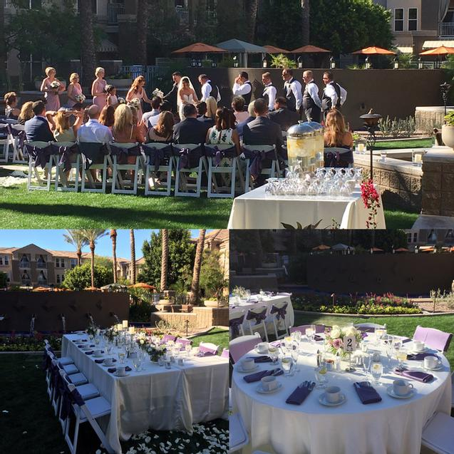 Wedding Celebration On The Courtyard & Patio 22 of 31