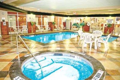 Unwind In Our Large Indoor Pool And Whirlpool 8 of 15