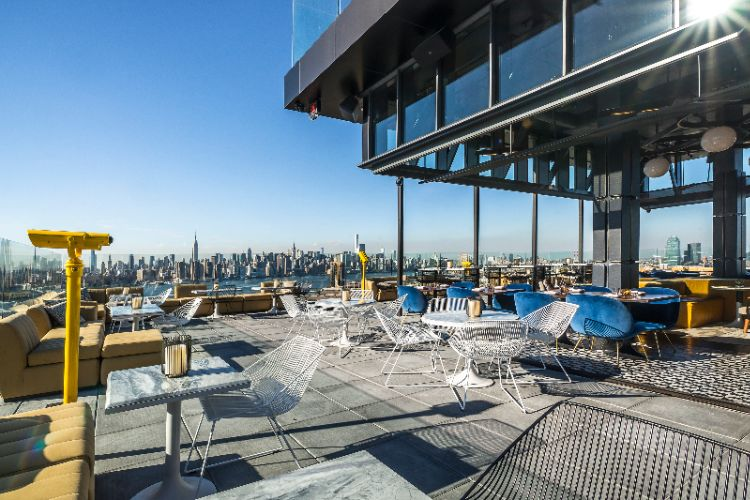 Westlight Is A 22nd-Floor Rooftop Bar With Sweeping Views Of New York City Atop The William Vale. 8 of 27