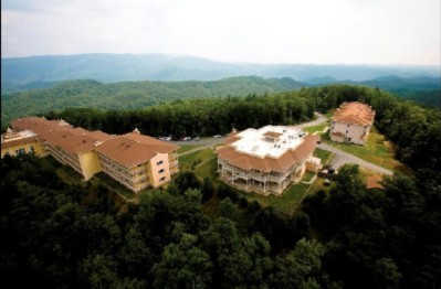 Birds Eye View Of The Ridge Hotel Offering Over 50 Miles Of Panoramic Mountain Views 2 of 8
