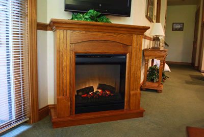 Fireplace Unit Available In Some Of The Suites. 6 of 16