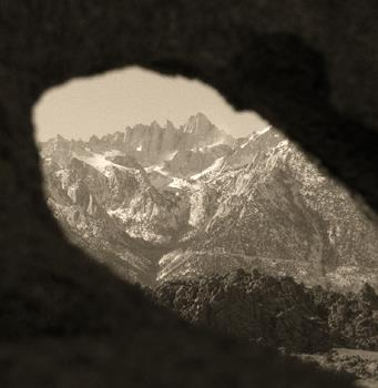 Mt Whitney Through The Arch 2 of 5