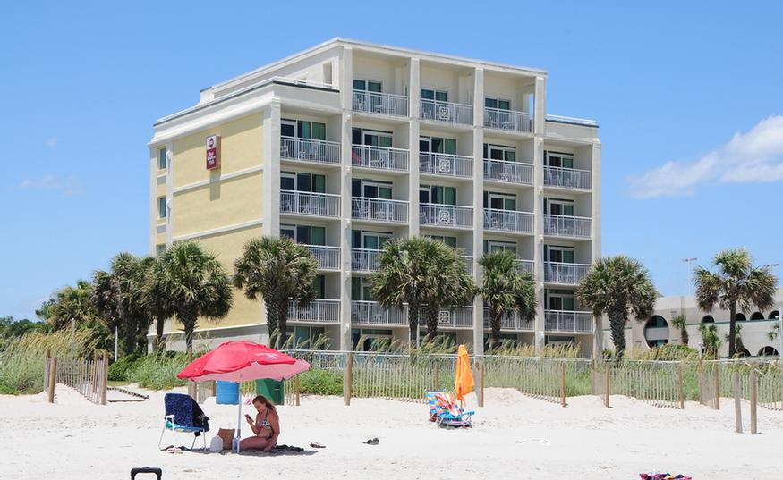 Best Western Plus Grand Strand Inn Suites Myrtle Beach Sc 1804 South Ocean 29577