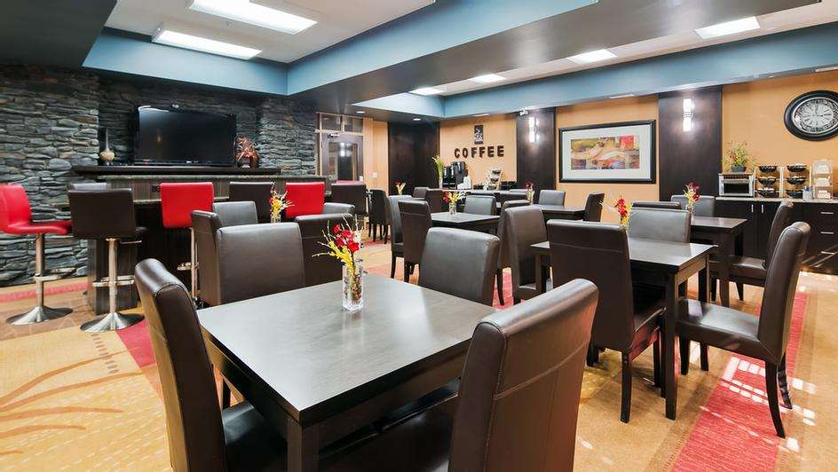 Enjoy The Most Important Meal Of The Day In Our Gorgeous Breakfast Area. Sit With Your Group Or Plug In Your Laptop And Enjoy Working At Our Community Table. 3 of 11