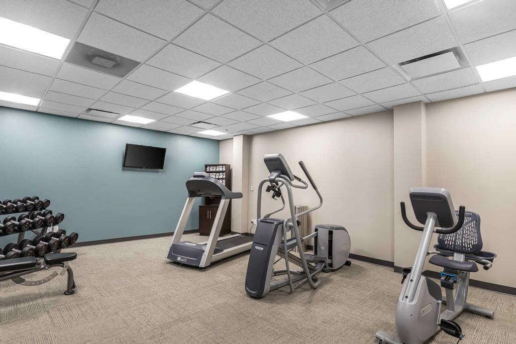 Cardio Equipment And Free Weights Available In Our Fitness Room. Accessible 24/7 With Your Guestroom Key 5 of 15