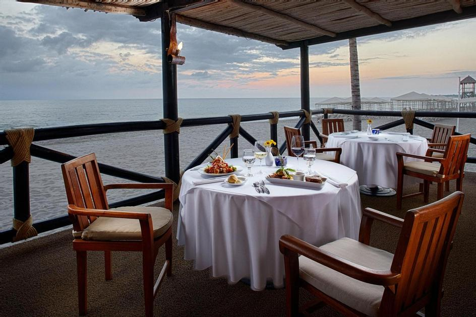 La Ribera Steakhouse Is An Open Oceanfront Restaurant Overlooking The Banderas Bay And Puerto Vallarta's Boardwalk. It Offers A Menu Of Mexican And Spanish Dishes. Dinners Showcase Steakhouse Specialties Including: Fine Meat Cuts. 13 of 51