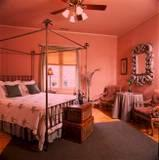This Room Features A Queen-Sized Palm Canopy Bed And A Large Desk Perfect For Work Or A Bucket Of Wine! 4 of 9