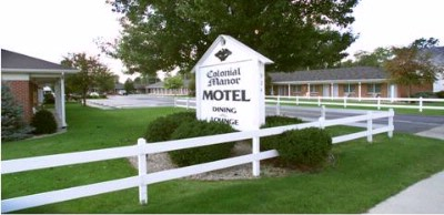 The Colonial Manor Motel In Bryan Ohio. 2 of 2