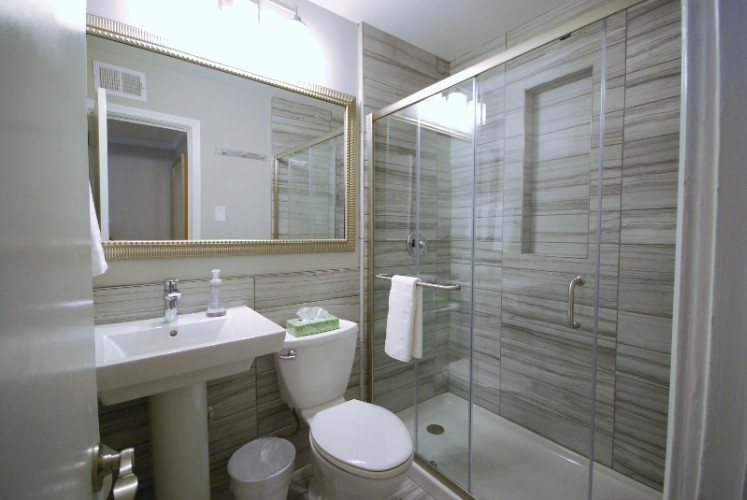 2ba/1ba -Bathroom-With-Glass-Shower 5 of 17