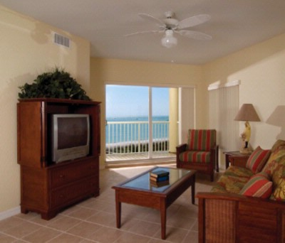 Living Room With Queen Size Sleeper Sofa Private Balcony Overlooking The Beach And Gulf Of Mexico. 8 of 11