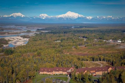 Aerial View Of Talkeetna Alaskan Lodge 3 of 10