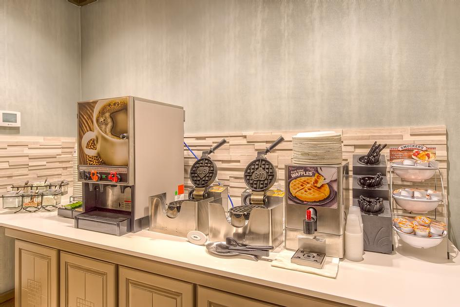 At The Best Western Seaway Inn Guests Can Make Their Own Waffles At Our Waffle Station. 7 of 22