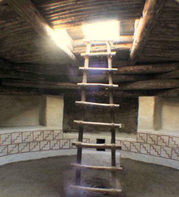 Descend Into A Fully Restored Kiva 3 of 11