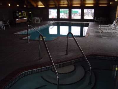 Oversized Pool With Hot Tub And Game Area 4 of 4