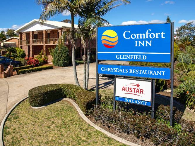 Comfort Inn Glenfield 1 of 6