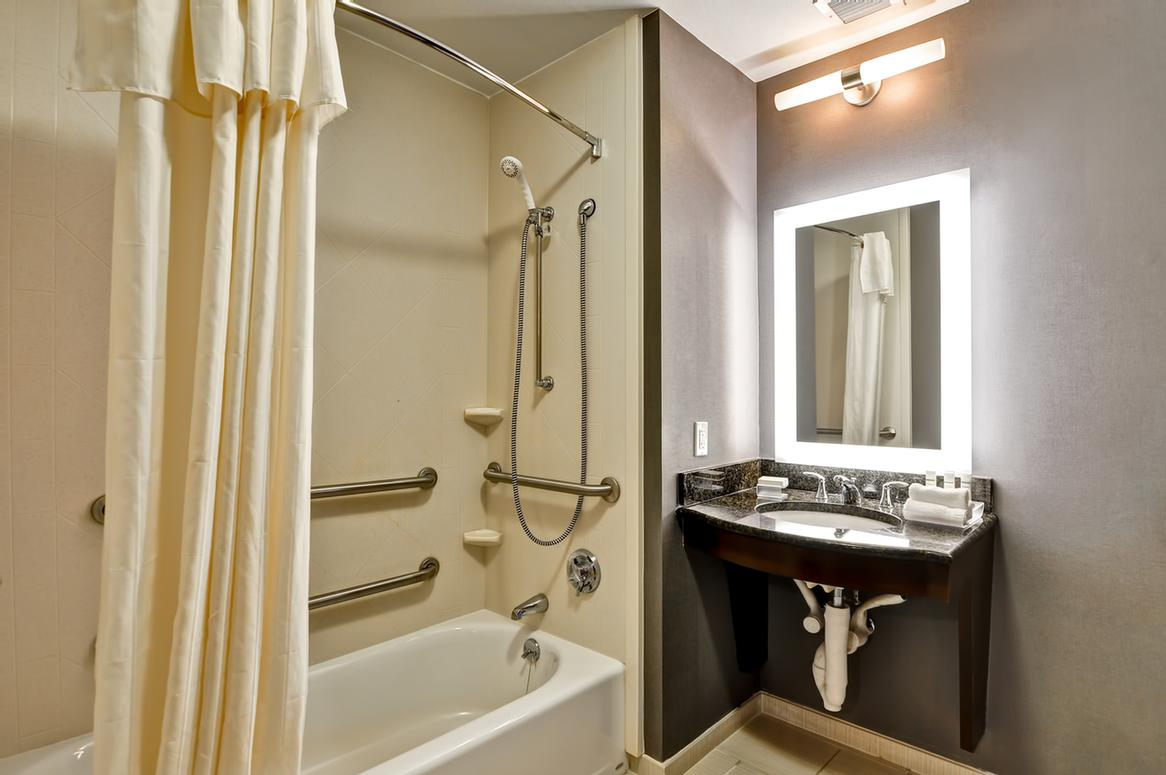Handicapped Accessible Tub Bathroom 13 of 23