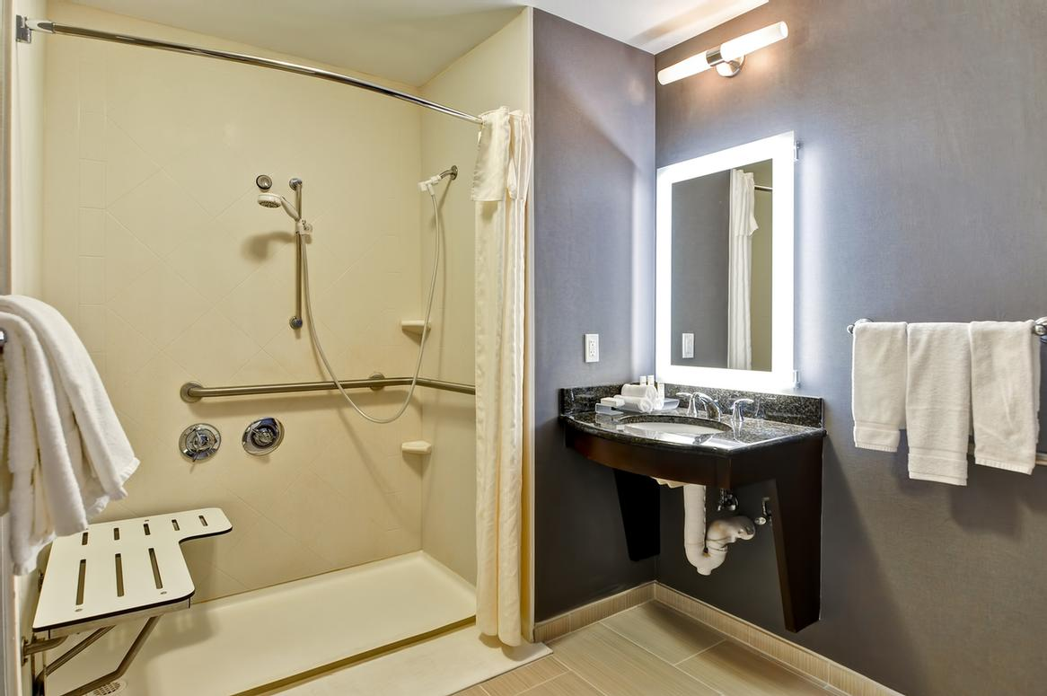 Wheelchair Accessible Roll-In Shower 17 of 23