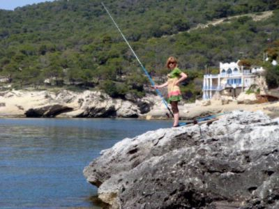 Fishing In Front Of Kavos Bay Hotel 20 of 31