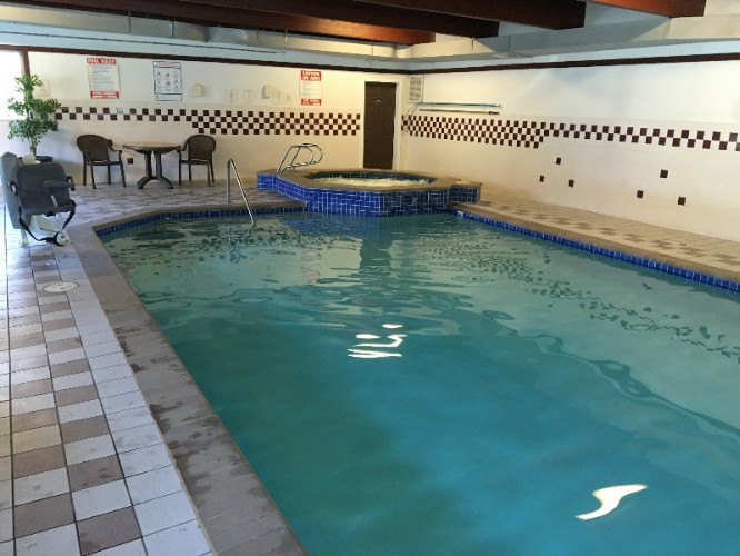 The Indoor Pool Is Perfect For Swimming Laps Or Taking A Quick Dip. 5 of 11