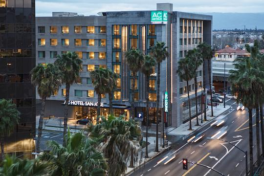 Ac Hotel By Marriott San Jose Downtown Ca 350 West Santa Clara 95113