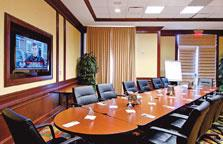 For Smaller Meetings Our Executive Boardroom Is A Perfect Fit! 9 of 10