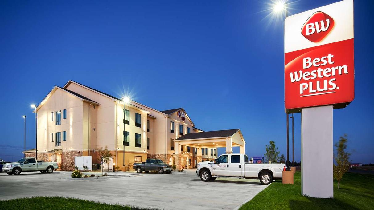 1004 Hotel Best Westernar Plus Stevens County Inn Hugoton Ks 1004 East 11th