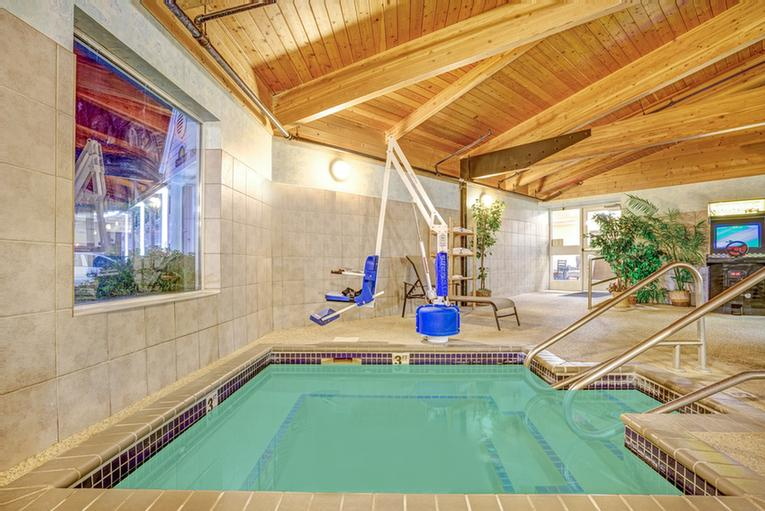Indoor Pool & Spa 8 of 8